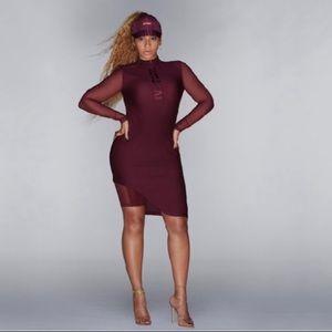 IVY PARK ASYMMETRICAL DRESS Size Large